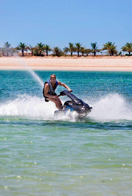 Adventure Sports at DoubleTree by Hilton Marjan Island Water Sport
