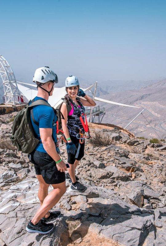 Jebel Jais Flight – World's Longest Zipline Ras Al Khaimah