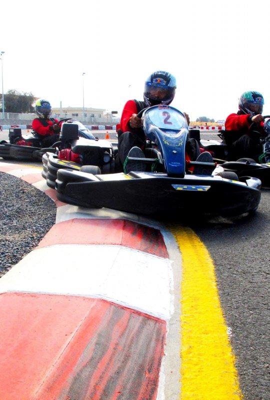 RAK Track Go Karting Racing